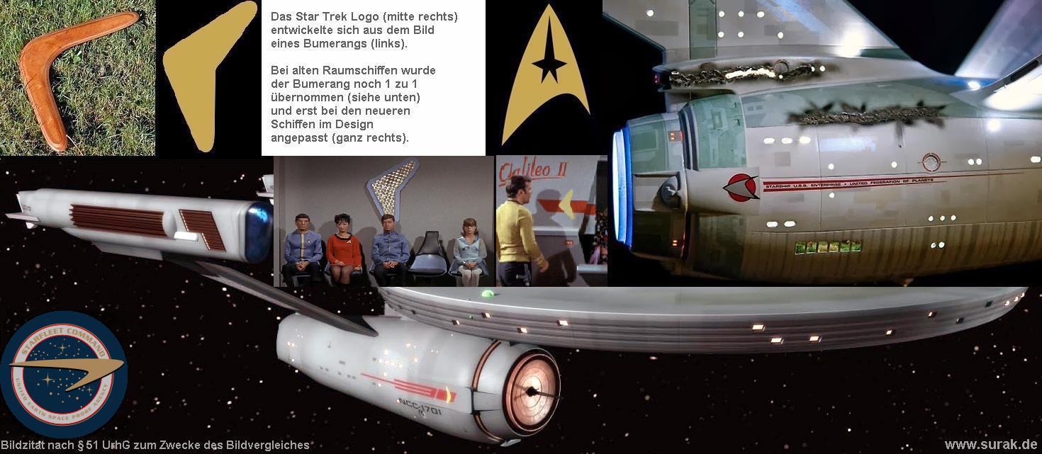 Die Entwicklung des Star Trek Logos